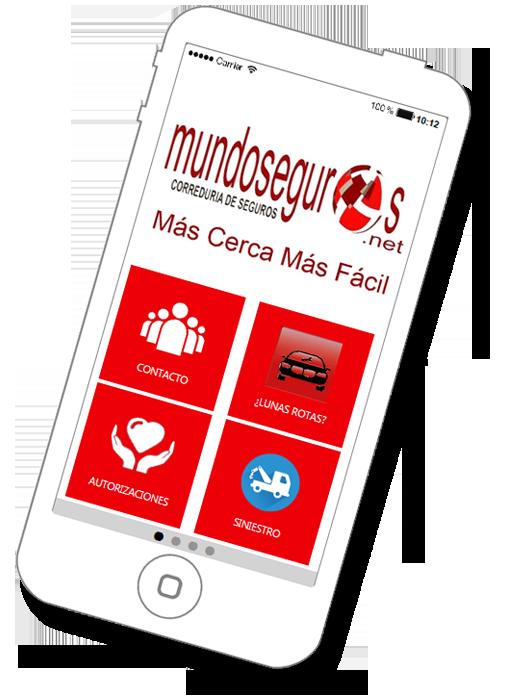 App MundoSeguros, más cerca más fácil