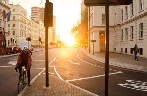 ciclista seguro de hogar