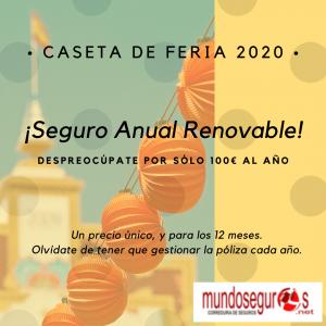 Seguro caseta de Feria Abril 2020