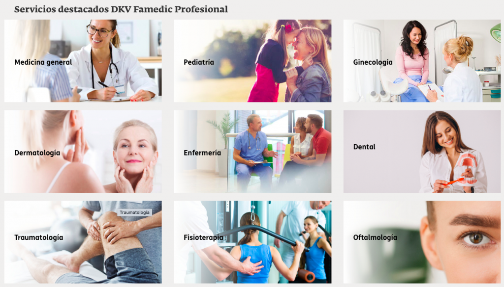 seguro autónomos salud DKV Famedic Profesional